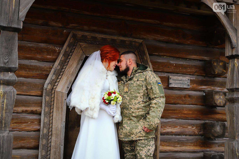 «Весь конфетно-букетный период прошел в окопах»: в Запорожье поженились военные, которые познакомились на передовой, - ФОТОРЕПОРТАЖ, фото-14