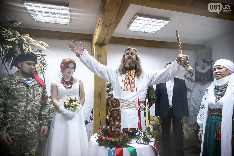 «Весь конфетно-букетный период прошел в окопах»: в Запорожье поженились военные, которые познакомились на передовой, - ФОТОРЕПОРТАЖ, фото-18