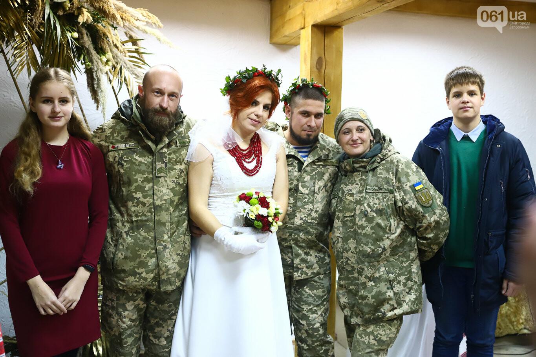 «Весь конфетно-букетный период прошел в окопах»: в Запорожье поженились военные, которые познакомились на передовой, - ФОТОРЕПОРТАЖ, фото-39
