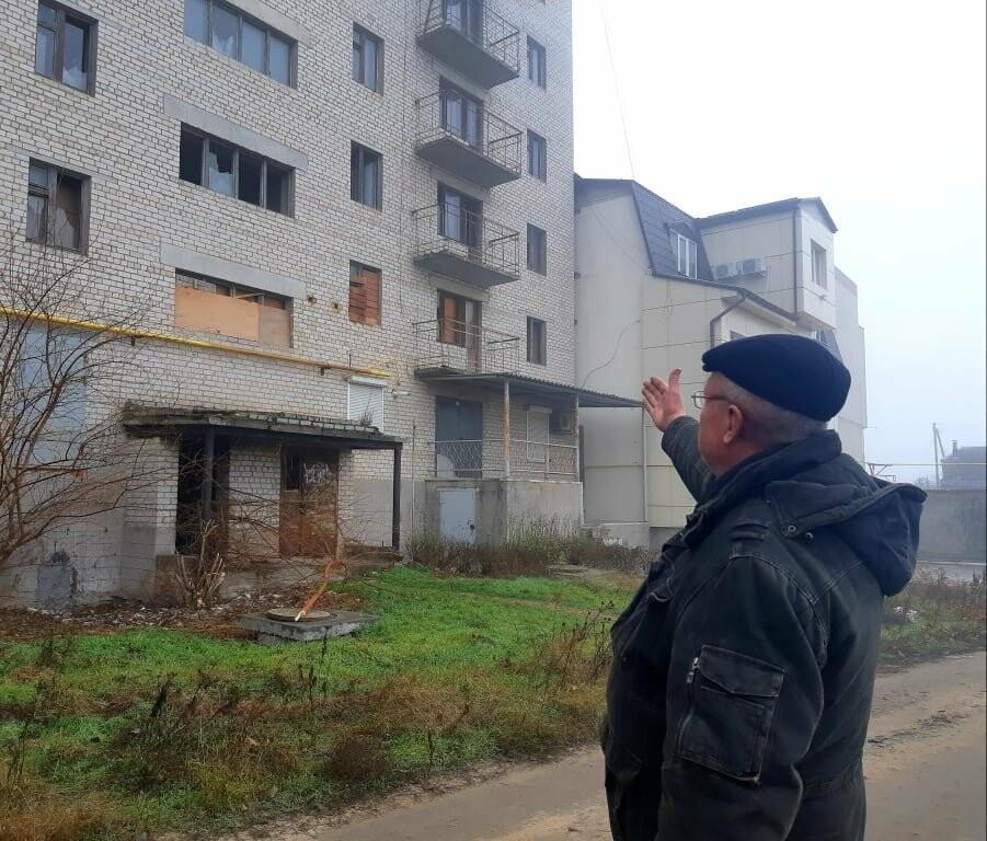 """""""28 лет служил и 28 лет жду жилье"""": в Мелитополе не могут достроить дом для военных, - ФОТО, ВИДЕО, фото-6"""