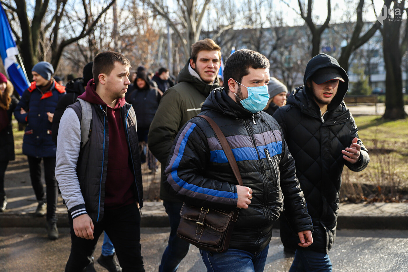 В Запорожье на протестную акцию профсоюзов «Волна гнева» вышло около 2000 человек, - ФОТОРЕПОРТАЖ, фото-5