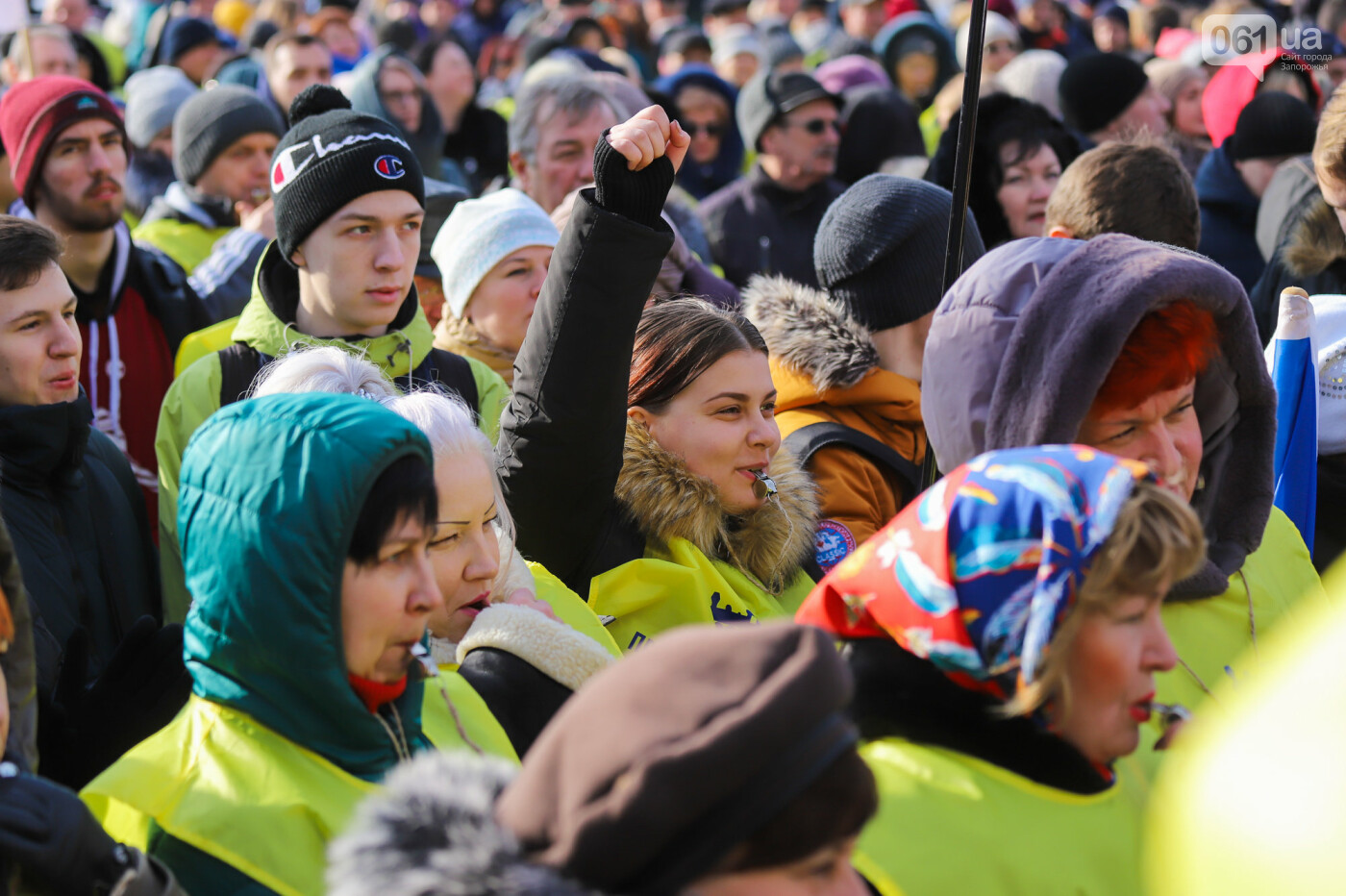 В Запорожье на протестную акцию профсоюзов «Волна гнева» вышло около 2000 человек, - ФОТОРЕПОРТАЖ, фото-24