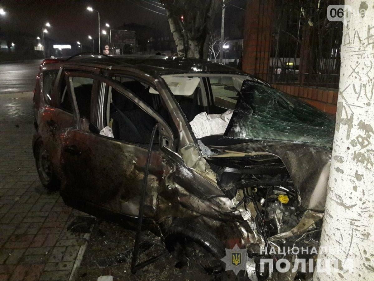 В Мелитополе столкнулись Nissan и Volkswagen - один человек погиб, еще трое в больнице, фото-1