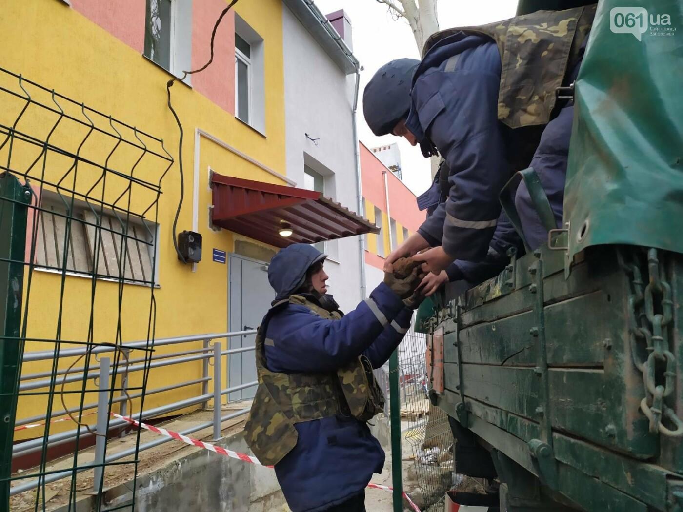 Нa территории ореховской школы нашли около сотни взрывоопасных предметов , фото-5