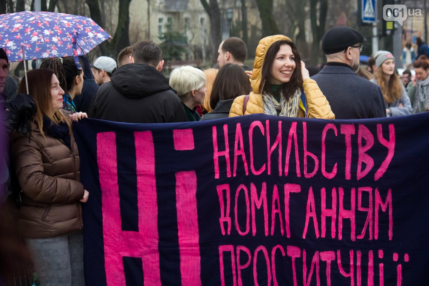 5 историй запорожцев, которые вышли на Марш женщин в Киеве: почему для них это важно, - ФОТОРЕПОРТАЖ, фото-21
