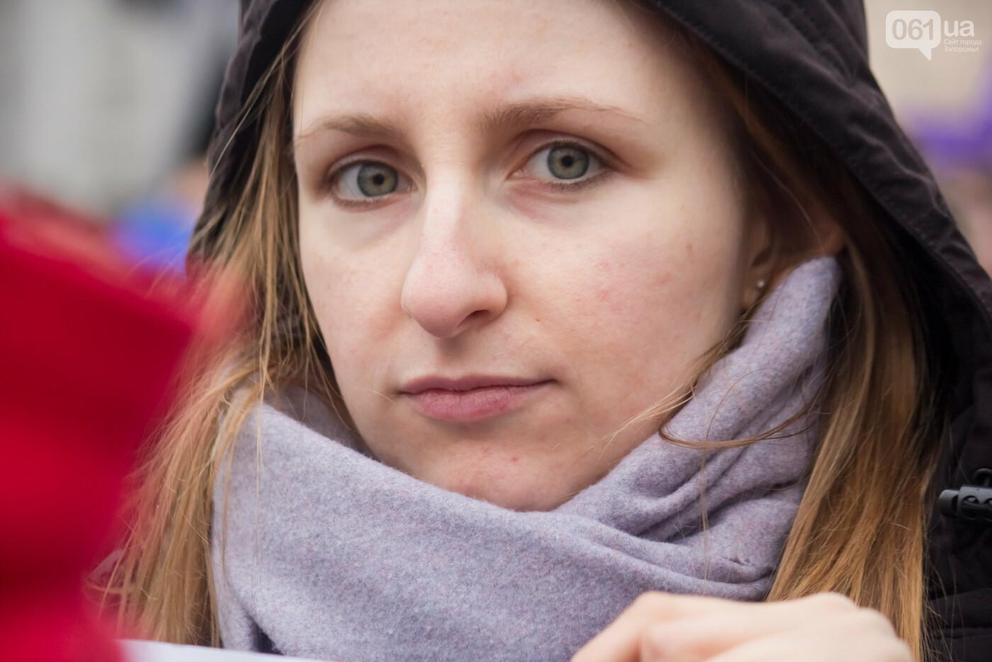 5 историй запорожцев, которые вышли на Марш женщин в Киеве: почему для них это важно, - ФОТОРЕПОРТАЖ, фото-24