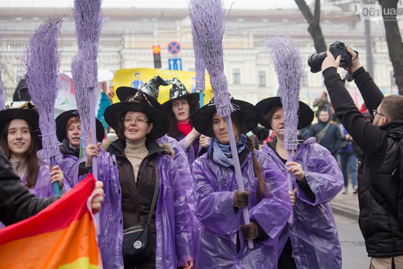 5 историй запорожцев, которые вышли на Марш женщин в Киеве: почему для них это важно, - ФОТОРЕПОРТАЖ, фото-27