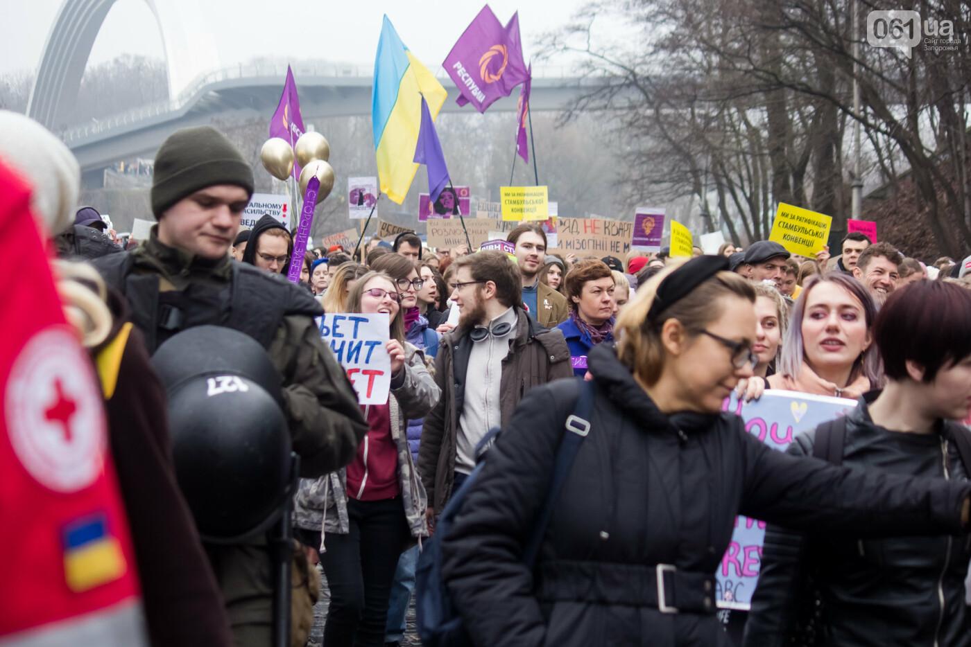 5 историй запорожцев, которые вышли на Марш женщин в Киеве: почему для них это важно, - ФОТОРЕПОРТАЖ, фото-28