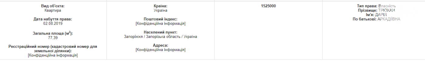 Депутатка Запорожского городского совета задекларировала доход в 3 миллиона гривен и покупку квартиры, фото-2