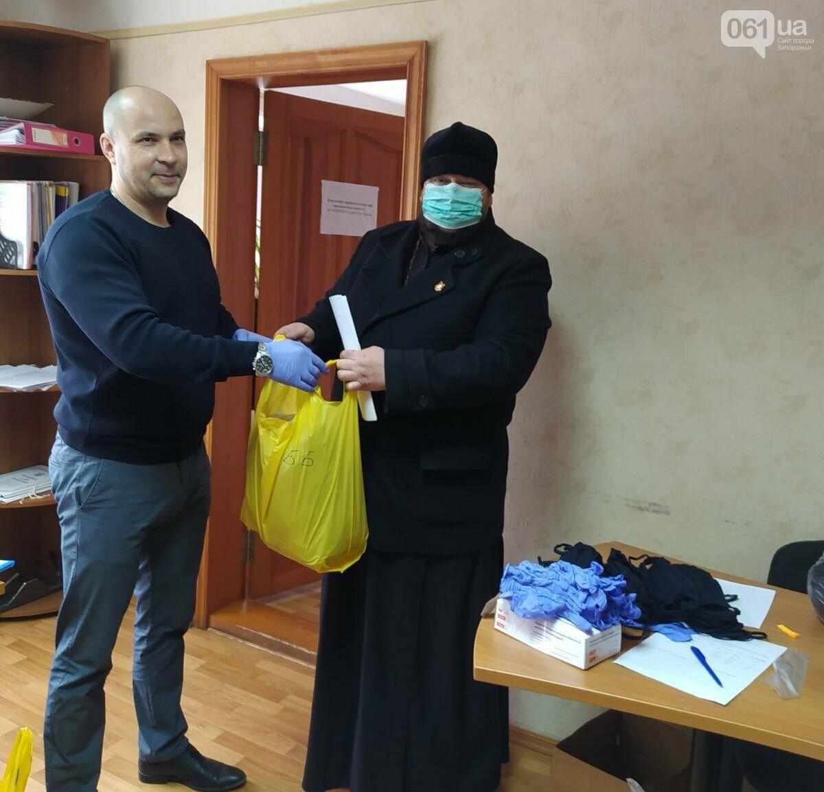 Пошив масок в школьной мастерской, социальное такси и пункты приема больных: что делают громады Запорожской области на карантине, фото-1