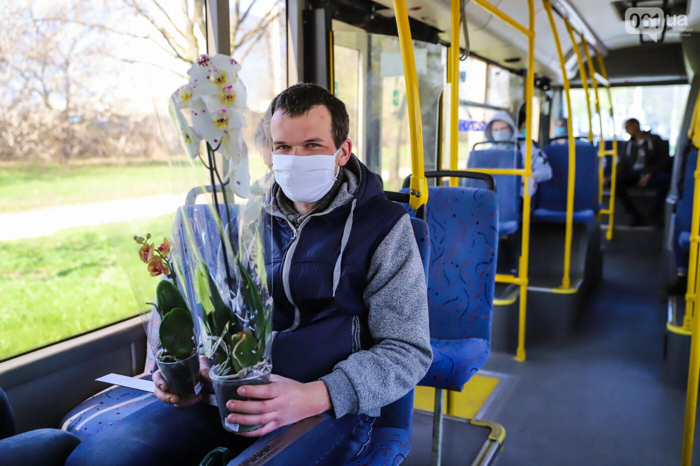 Вход только в масках: как выглядит Запорожье на карантине, - ФОТОРЕПОРТАЖ, фото-21