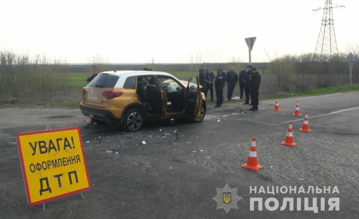 В Запорожской области столкнулись Кіа и Suzuki - пострадали 6 человек, фото-1