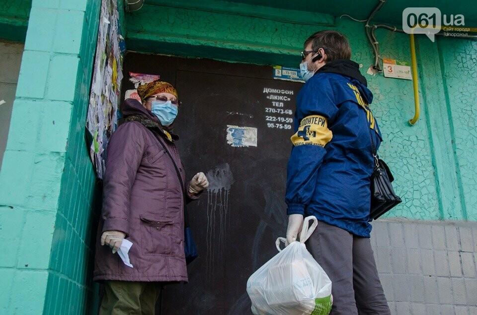 Волонтеры доставили одиноким запорожцам продуктовые наборы, - ФОТОФАКТ, фото-2