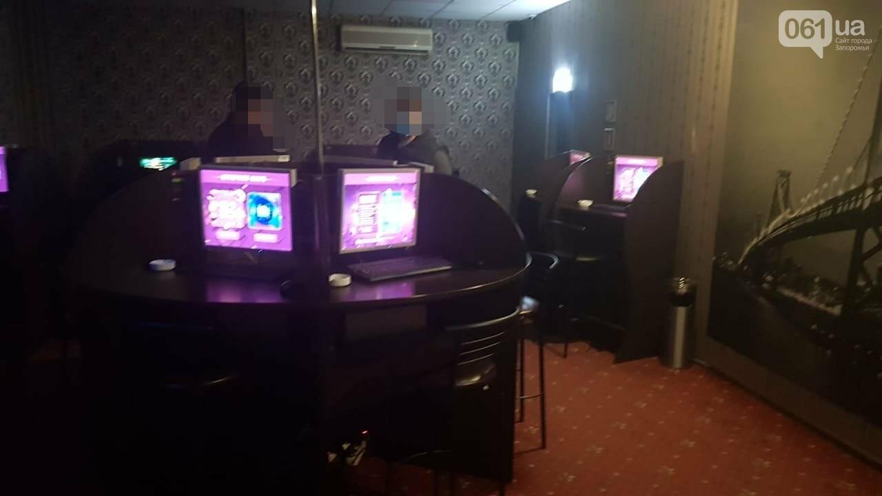 В центре Запорожья правоохранители прикрыли еще один зал игровых автоматов, фото-1