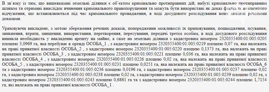 Из детского лагеря в коттеджный поселок: в Кирилловке наложили арест на 12 земельных участков на берегу моря, фото-2