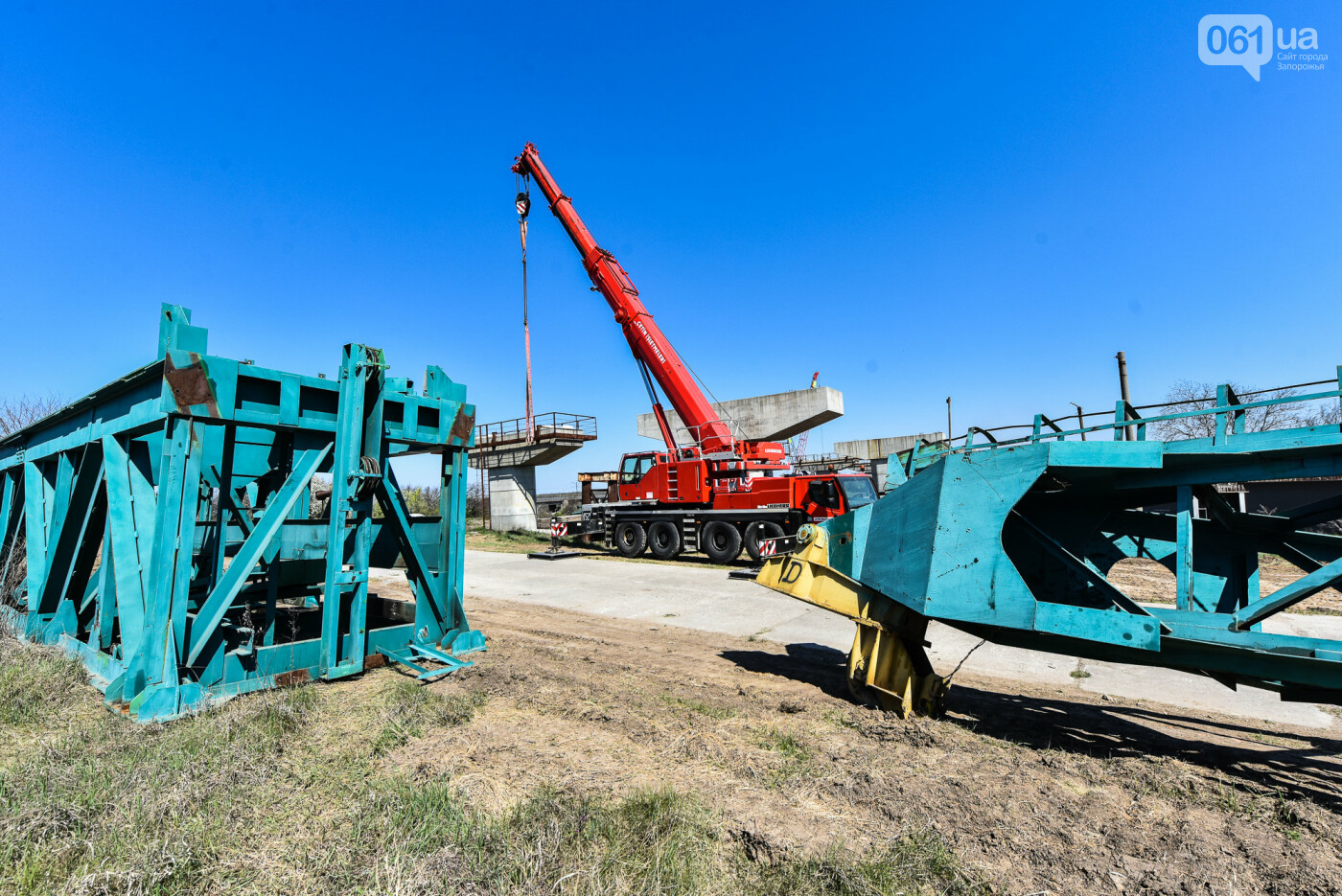 На запорожские мосты выделено 2,7 миллиарда: что сейчас проиходит стройплощадке, - ФОТОРЕПОРТАЖ, фото-19