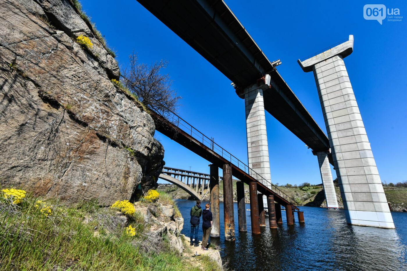 На запорожские мосты выделено 2,7 миллиарда: что сейчас проиходит стройплощадке, - ФОТОРЕПОРТАЖ, фото-38
