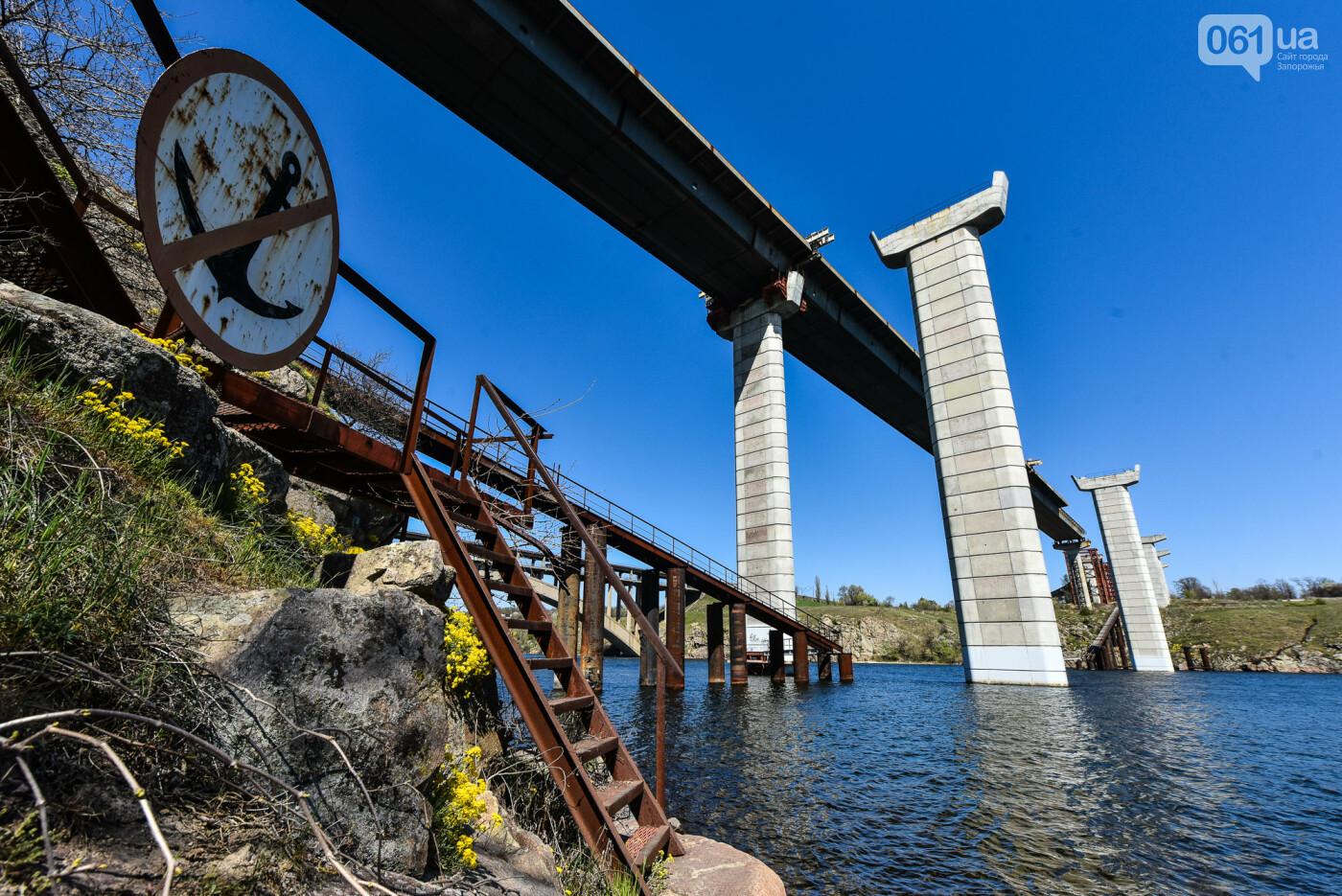 На запорожские мосты выделено 2,7 миллиарда: что сейчас проиходит стройплощадке, - ФОТОРЕПОРТАЖ, фото-39