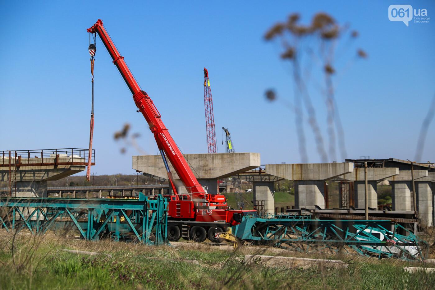 На запорожские мосты выделено 2,7 миллиарда: что сейчас проиходит стройплощадке, - ФОТОРЕПОРТАЖ, фото-22