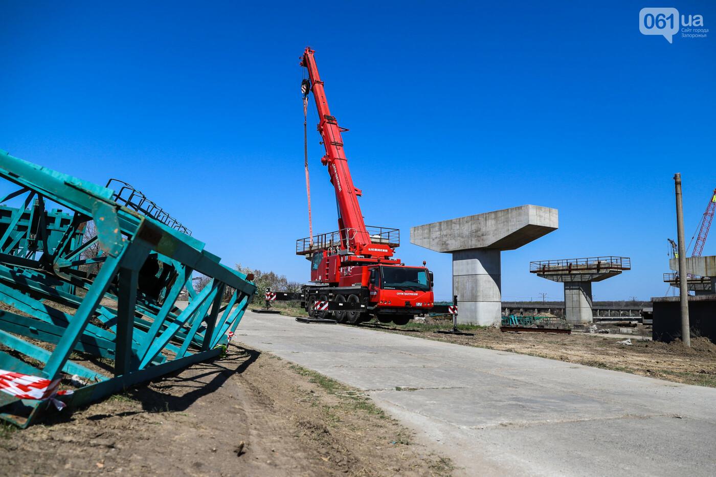 На запорожские мосты выделено 2,7 миллиарда: что сейчас проиходит стройплощадке, - ФОТОРЕПОРТАЖ, фото-23