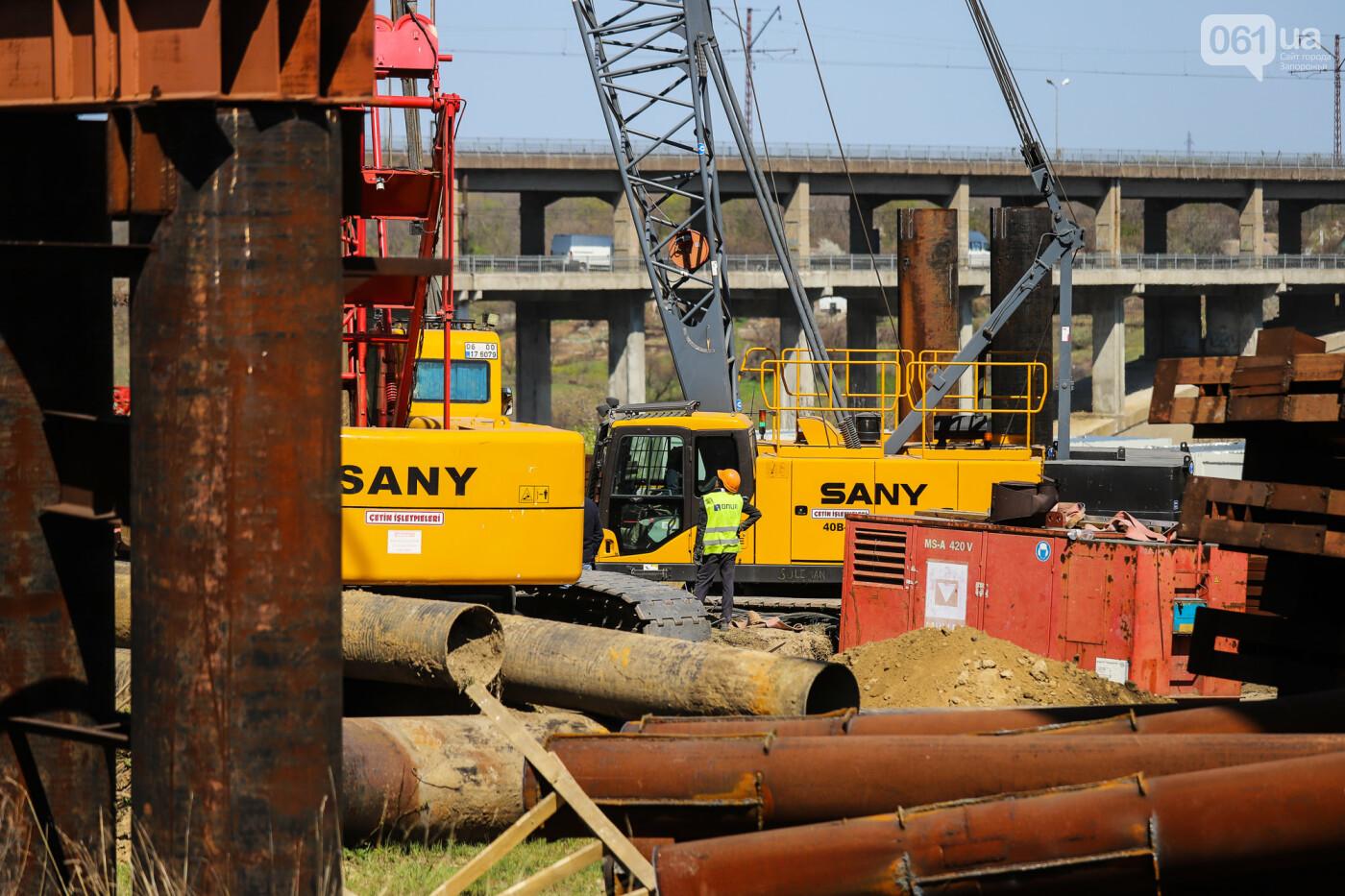 На запорожские мосты выделено 2,7 миллиарда: что сейчас проиходит стройплощадке, - ФОТОРЕПОРТАЖ, фото-25