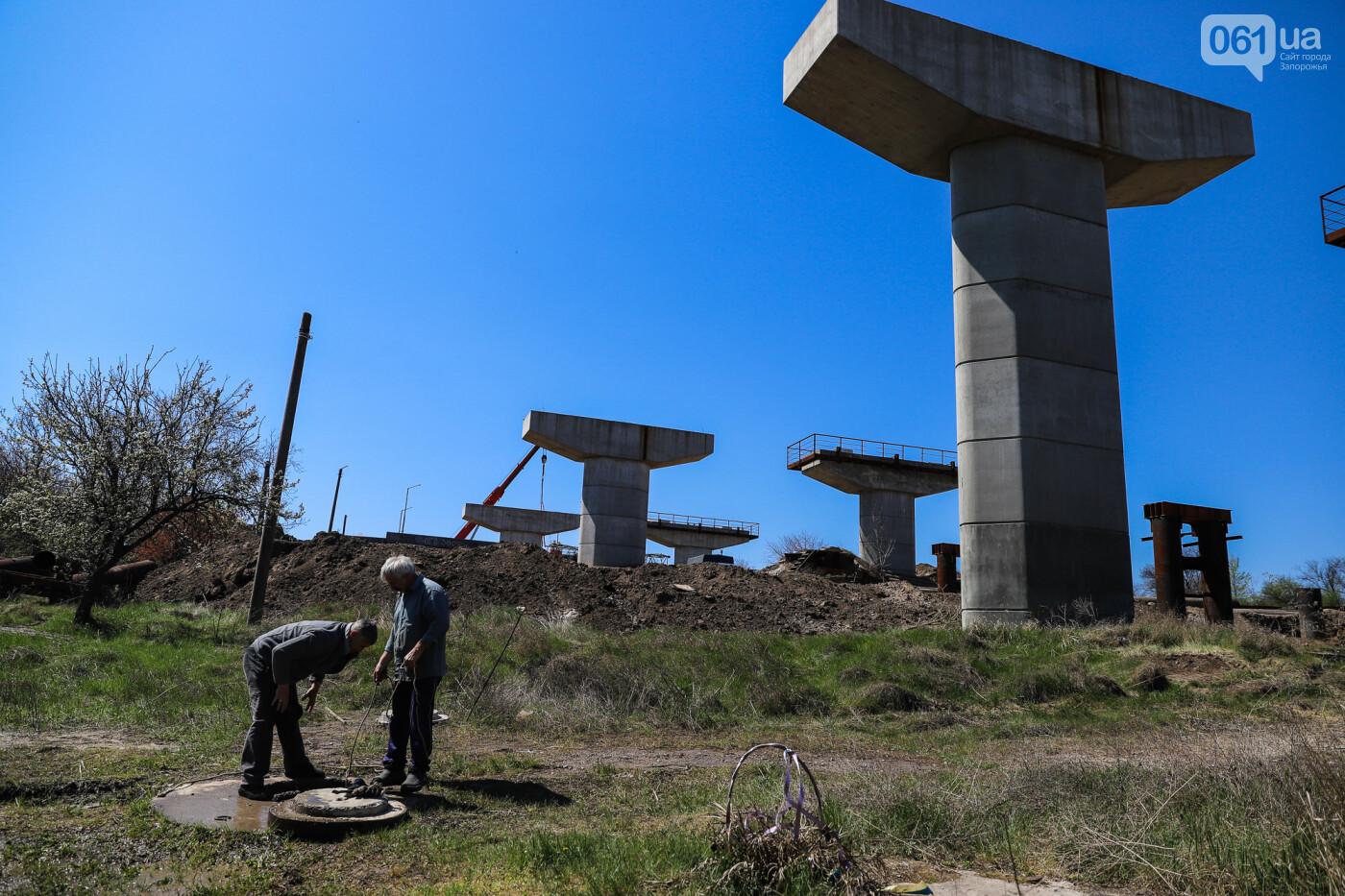 На запорожские мосты выделено 2,7 миллиарда: что сейчас проиходит стройплощадке, - ФОТОРЕПОРТАЖ, фото-29