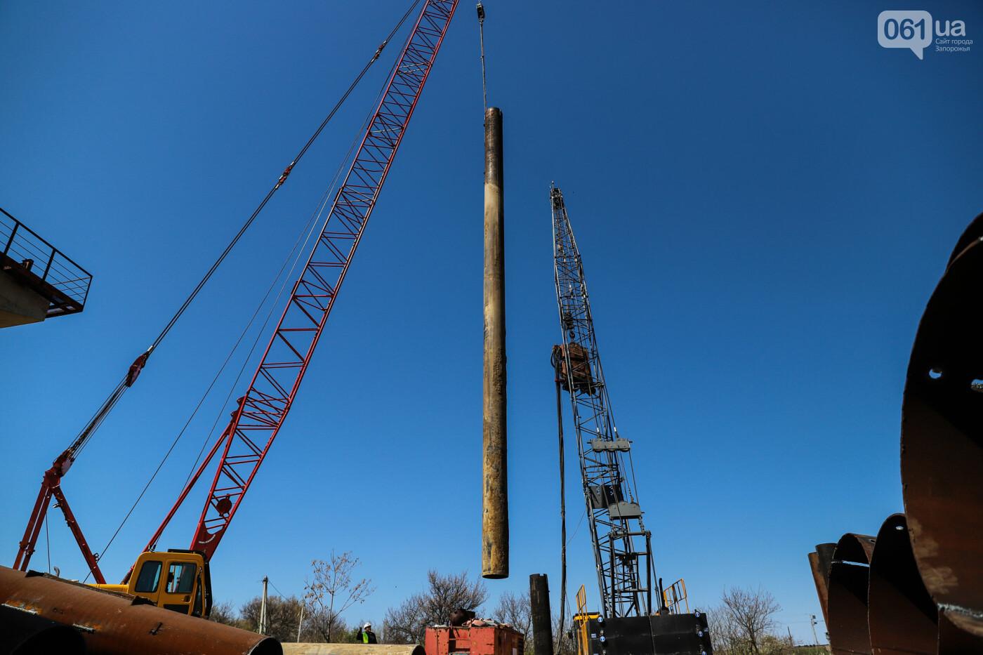 На запорожские мосты выделено 2,7 миллиарда: что сейчас проиходит стройплощадке, - ФОТОРЕПОРТАЖ, фото-27