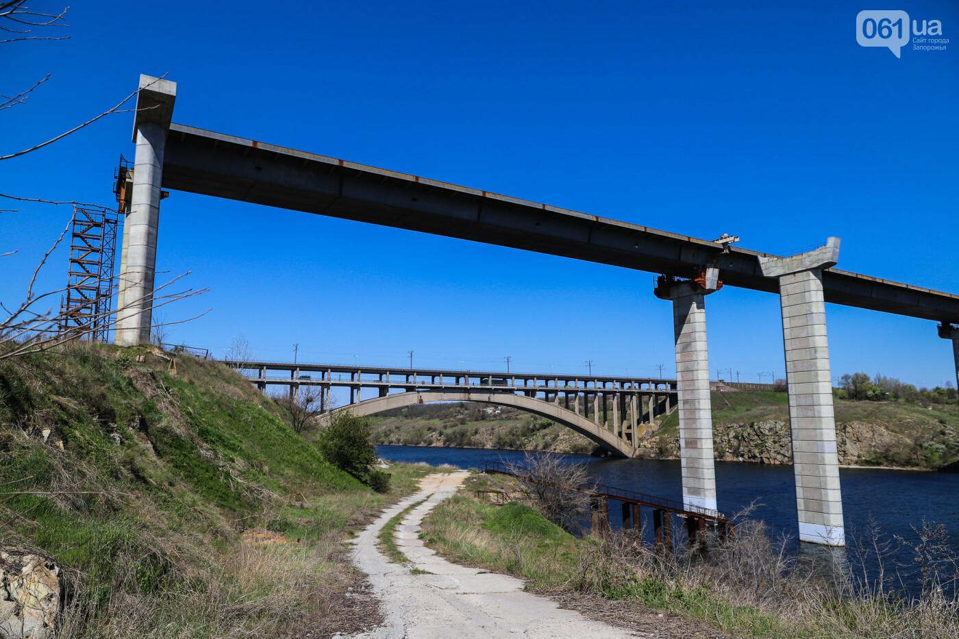 На запорожские мосты выделено 2,7 миллиарда: что сейчас проиходит стройплощадке, - ФОТОРЕПОРТАЖ, фото-35