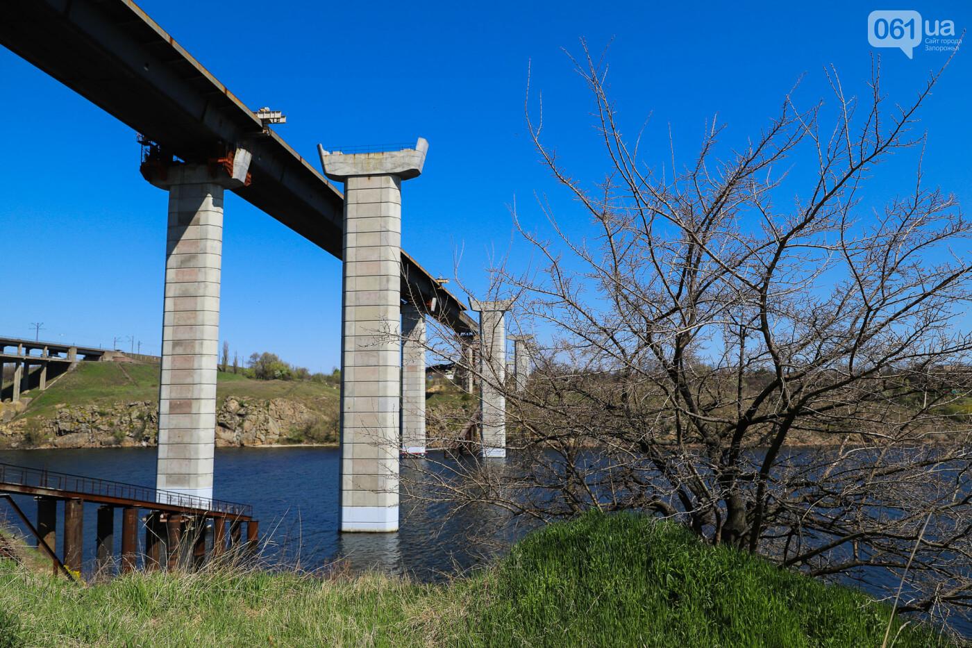 На запорожские мосты выделено 2,7 миллиарда: что сейчас проиходит стройплощадке, - ФОТОРЕПОРТАЖ, фото-36