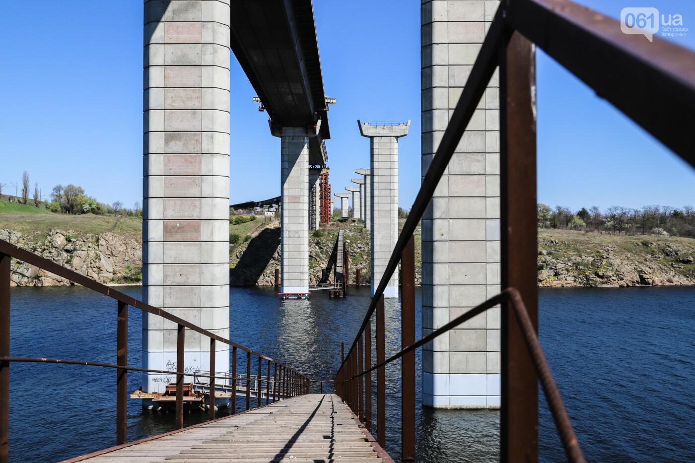 На запорожские мосты выделено 2,7 миллиарда: что сейчас проиходит стройплощадке, - ФОТОРЕПОРТАЖ, фото-43