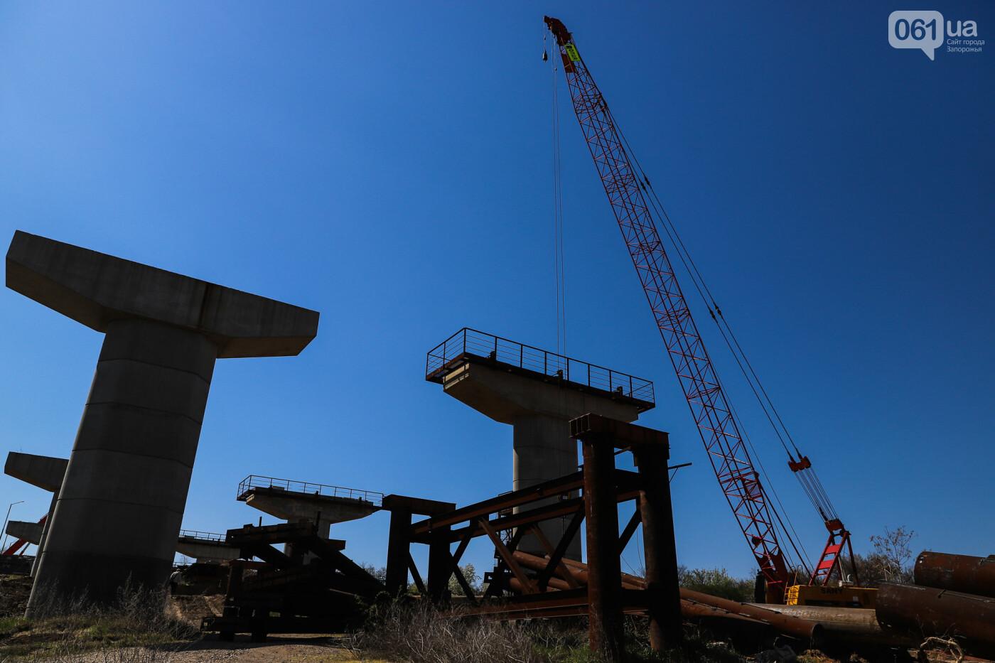 На запорожские мосты выделено 2,7 миллиарда: что сейчас проиходит стройплощадке, - ФОТОРЕПОРТАЖ, фото-26