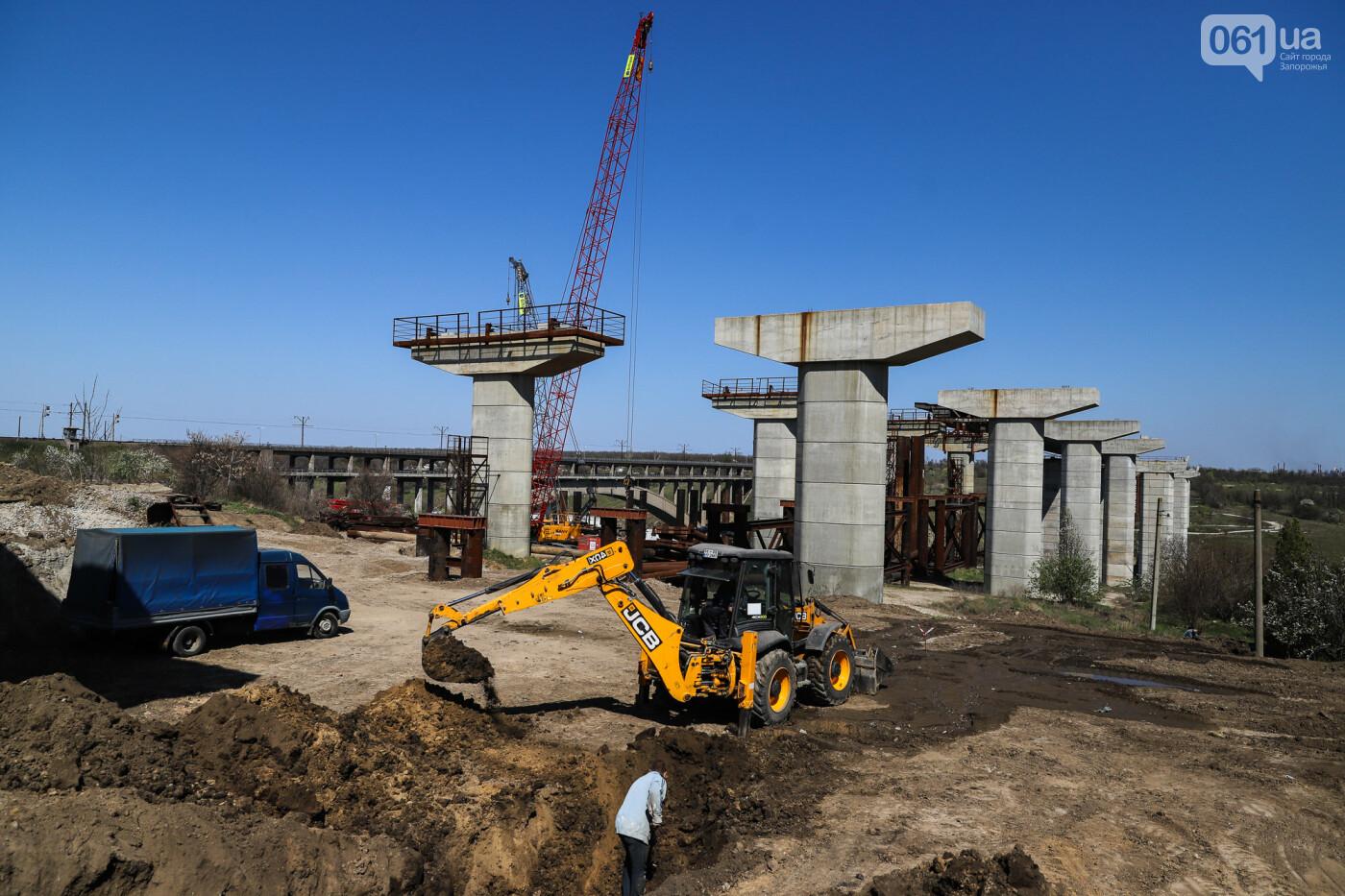 На запорожские мосты выделено 2,7 миллиарда: что сейчас проиходит стройплощадке, - ФОТОРЕПОРТАЖ, фото-46