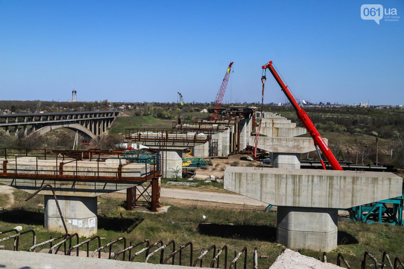 На запорожские мосты выделено 2,7 миллиарда: что сейчас проиходит стройплощадке, - ФОТОРЕПОРТАЖ, фото-17