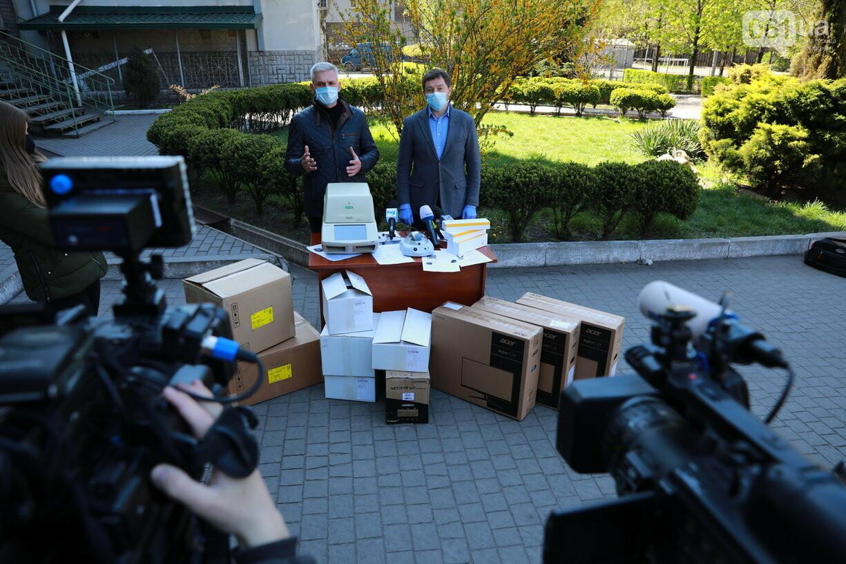Запорожские медики получили оборудование и смогут проводить 300 исследований на коронавирус в сутки, фото-2