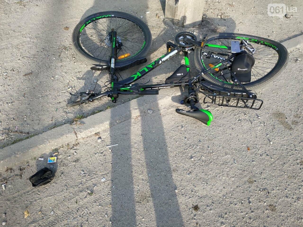 """ДТП с пострадавшим велосипедистом и ребенок, упавший с дерева: работа """"скорой"""" Запорожской области за сутки, фото-1"""