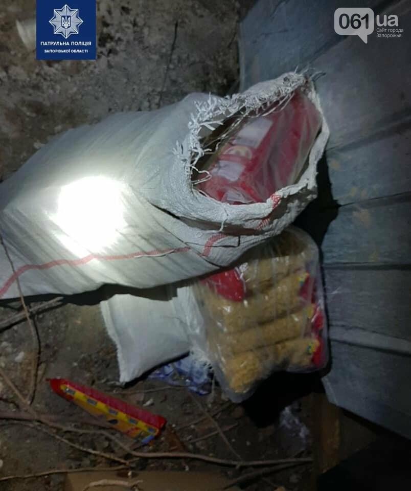 Житель Запорожья ночью украл из грузовика 65 пачек макарон, фото-1