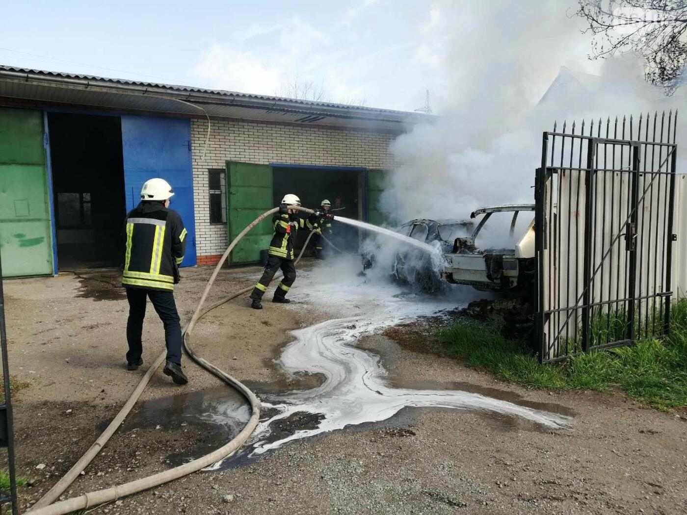 В Шевченковском районе сгорели 2 автомобиля , фото-2