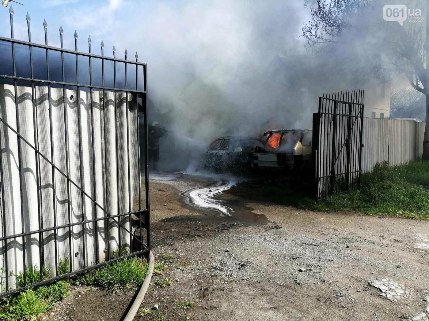 В Шевченковском районе сгорели 2 автомобиля , фото-3