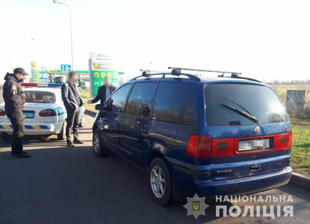 В Мелитополе задержали мужчину, который ранил полицейского, пытаясь выехать из города без спецпропуска, фото-1
