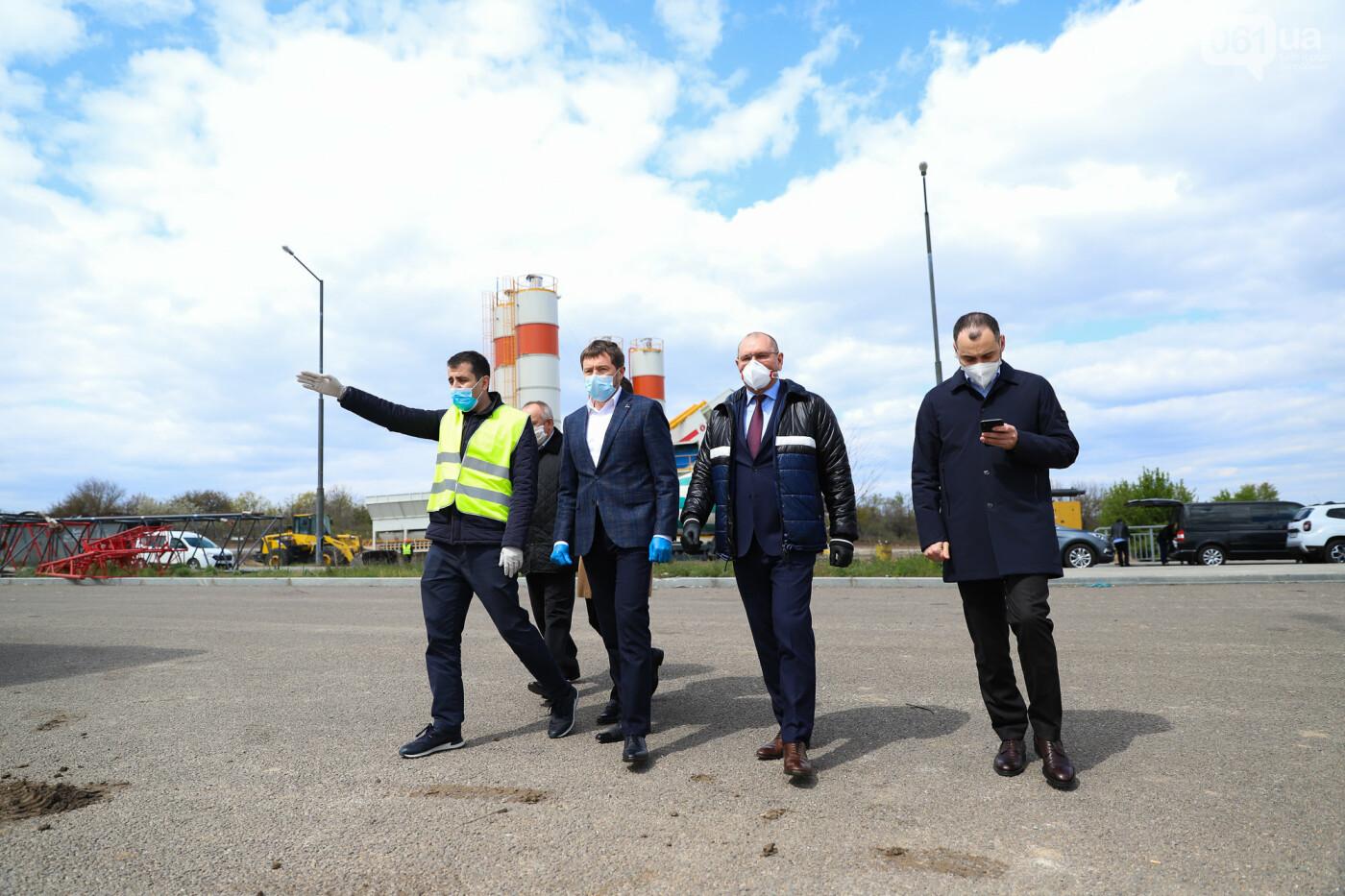 Глава Укравтодора побывал на запорожских мостах — планирует их достроить за два года, - ФОТОРЕПОРТАЖ , фото-25