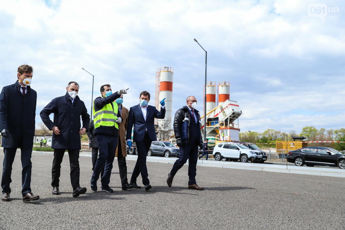 Глава Укравтодора побывал на запорожских мостах — планирует их достроить за два года, - ФОТОРЕПОРТАЖ , фото-27