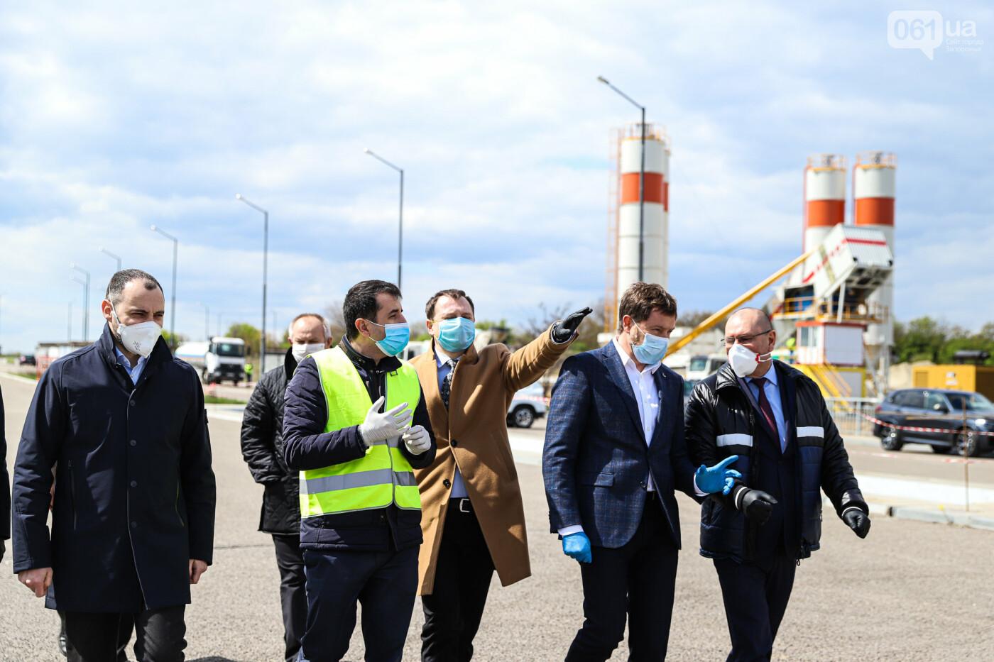 Глава Укравтодора побывал на запорожских мостах — планирует их достроить за два года, - ФОТОРЕПОРТАЖ , фото-1