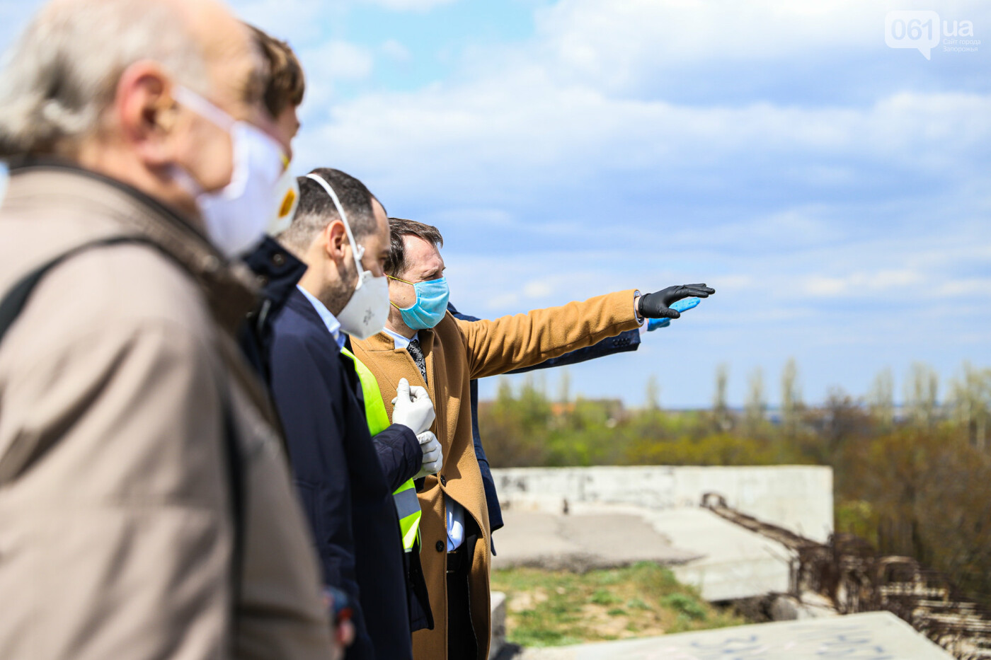 Глава Укравтодора побывал на запорожских мостах — планирует их достроить за два года, - ФОТОРЕПОРТАЖ , фото-3