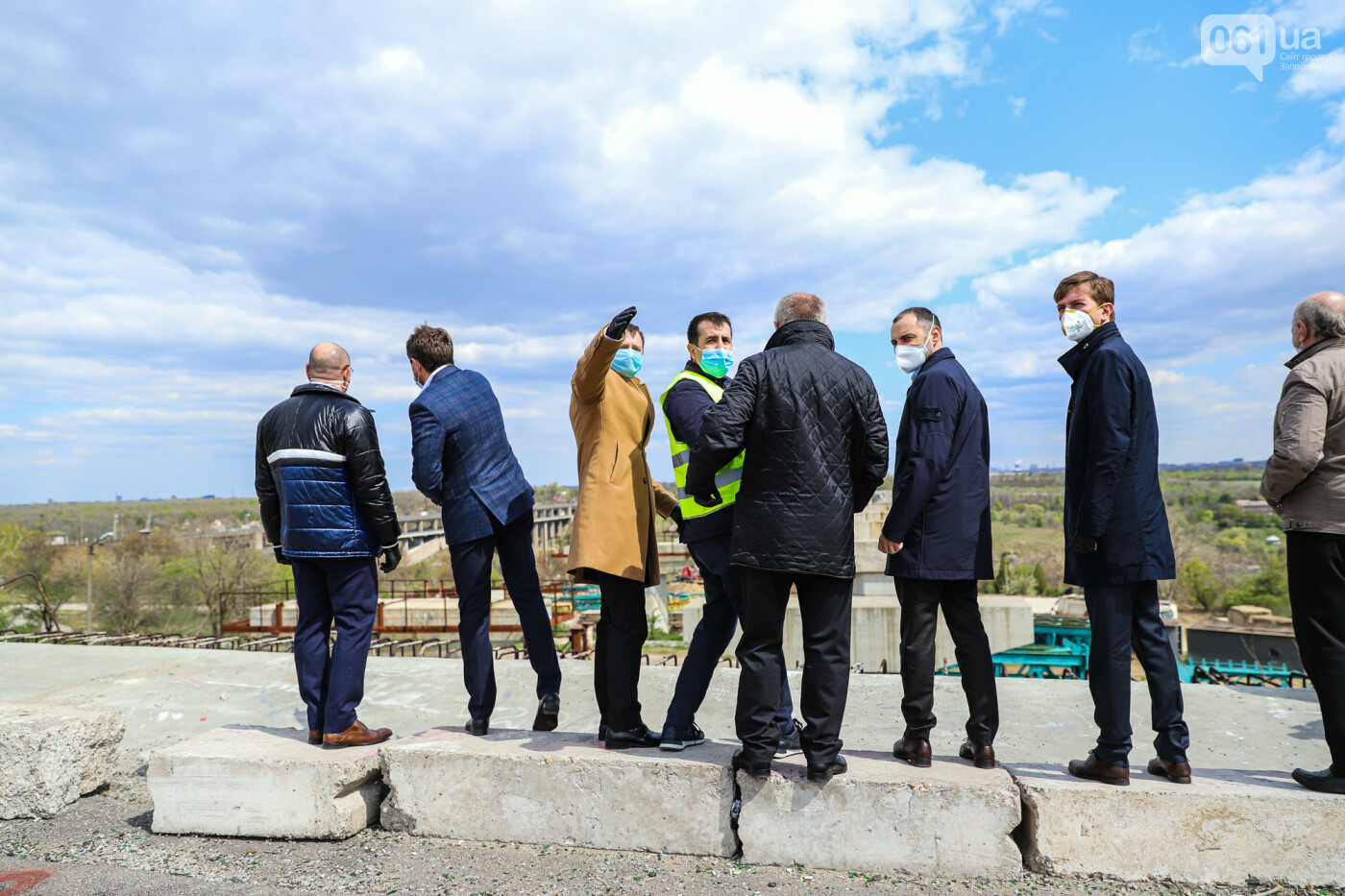 Глава Укравтодора побывал на запорожских мостах — планирует их достроить за два года, - ФОТОРЕПОРТАЖ , фото-4