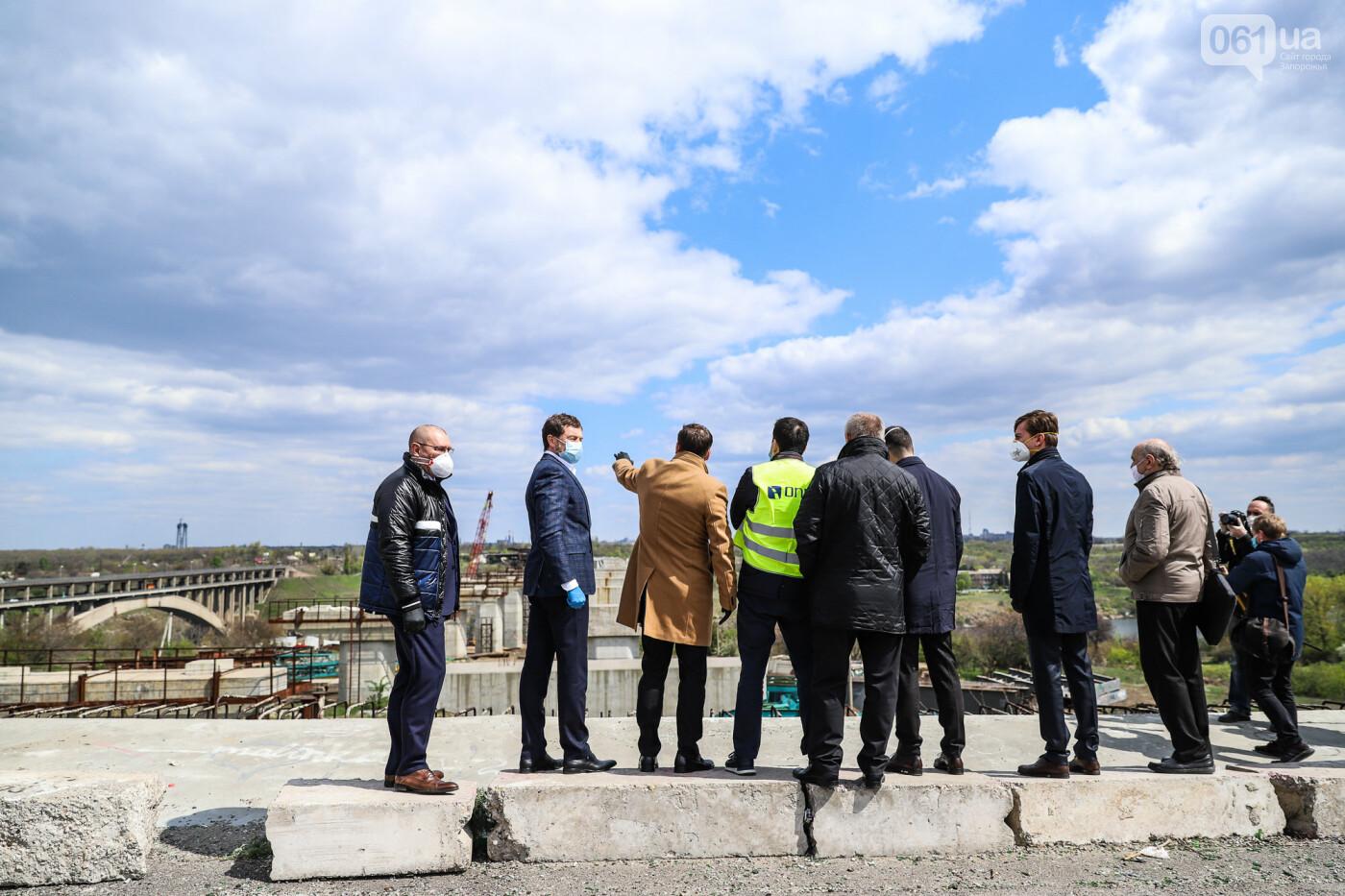 Глава Укравтодора побывал на запорожских мостах — планирует их достроить за два года, - ФОТОРЕПОРТАЖ , фото-5
