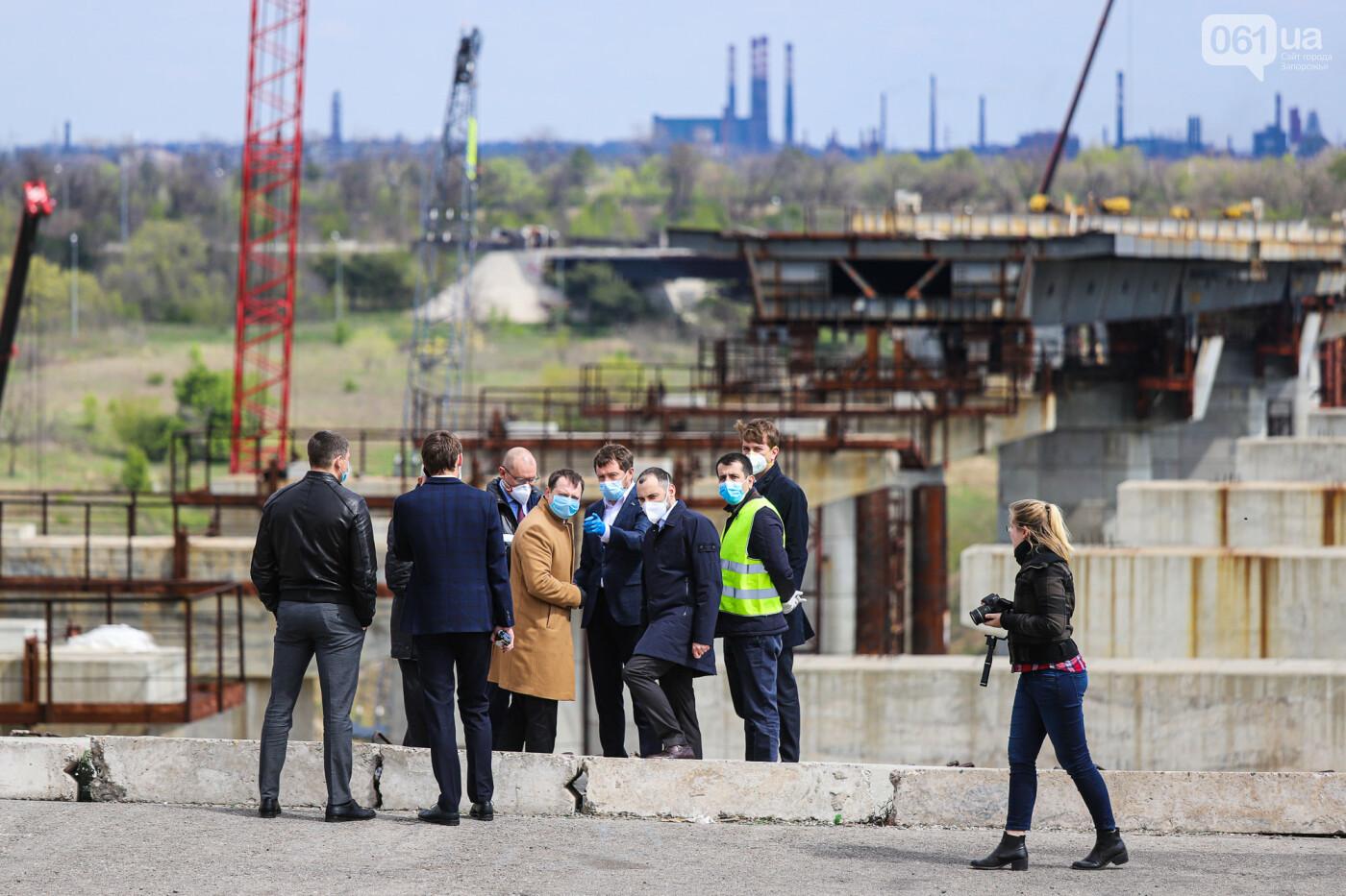 Глава Укравтодора побывал на запорожских мостах — планирует их достроить за два года, - ФОТОРЕПОРТАЖ , фото-6