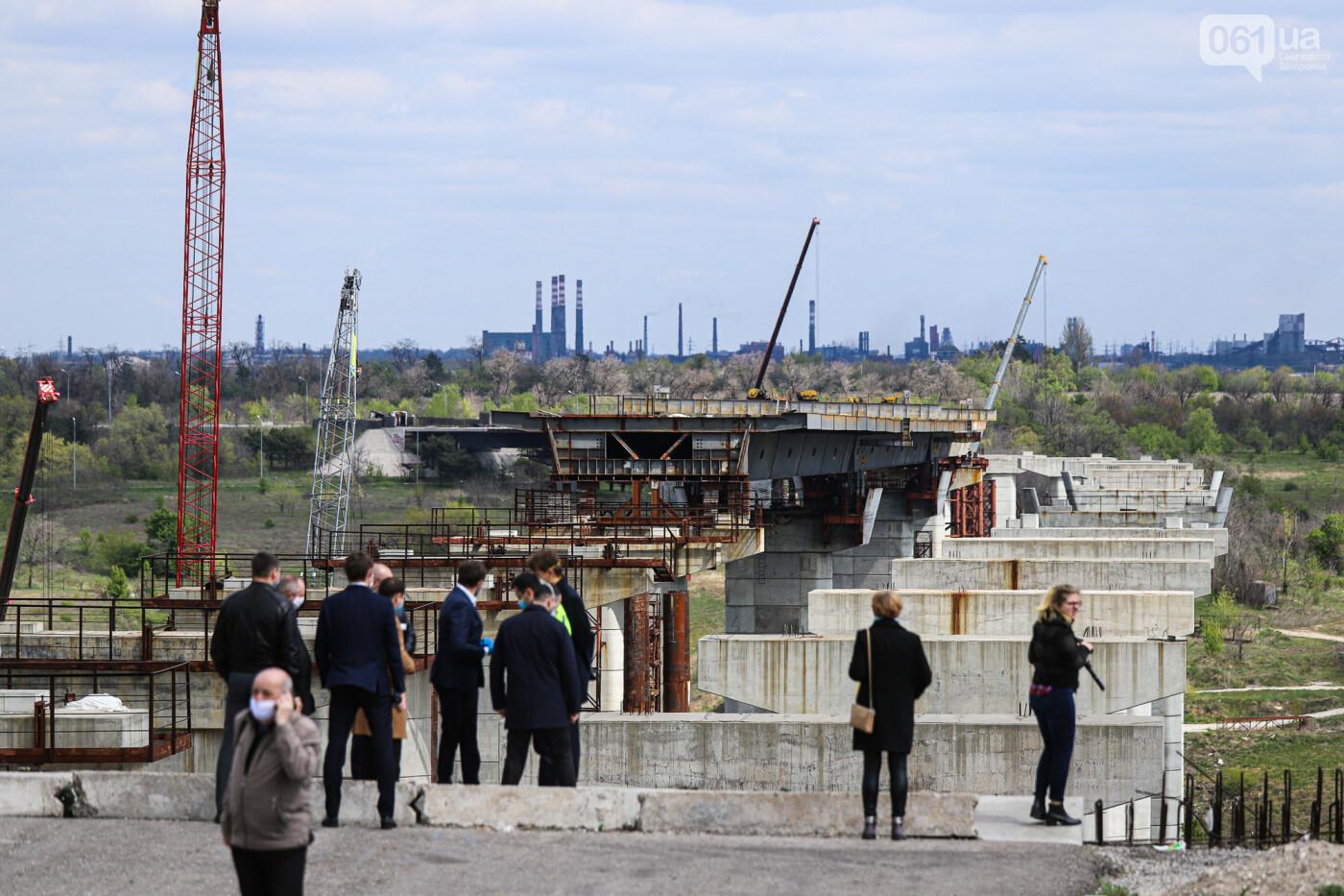 Глава Укравтодора побывал на запорожских мостах — планирует их достроить за два года, - ФОТОРЕПОРТАЖ , фото-19