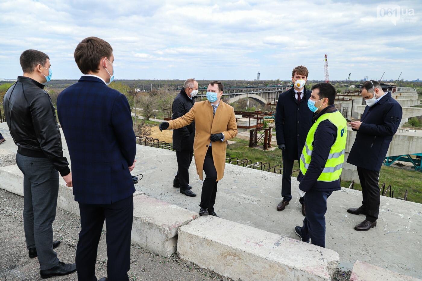 Глава Укравтодора побывал на запорожских мостах — планирует их достроить за два года, - ФОТОРЕПОРТАЖ , фото-29