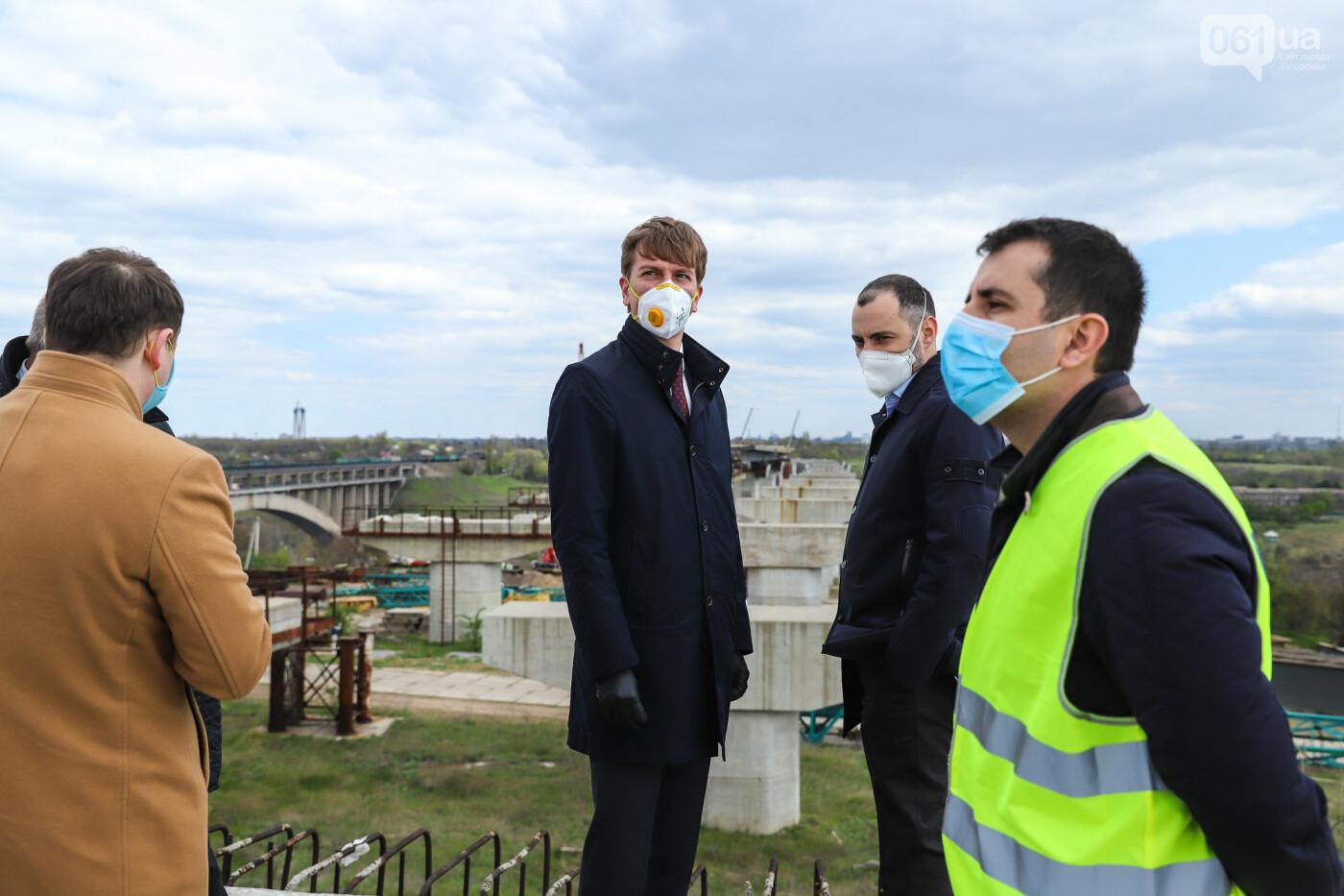 Глава Укравтодора побывал на запорожских мостах — планирует их достроить за два года, - ФОТОРЕПОРТАЖ , фото-30