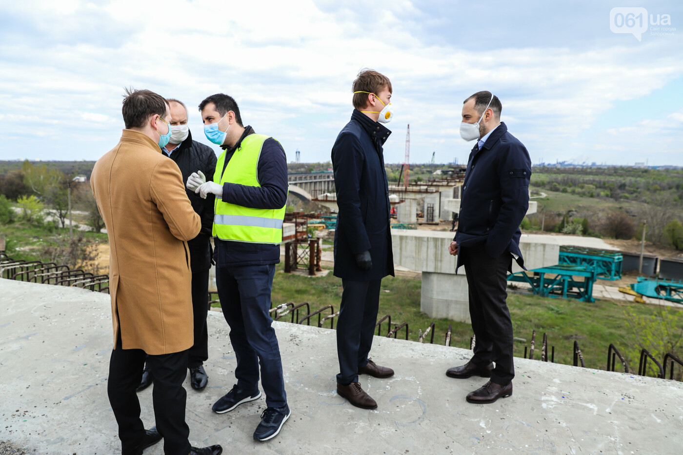 Глава Укравтодора побывал на запорожских мостах — планирует их достроить за два года, - ФОТОРЕПОРТАЖ , фото-31